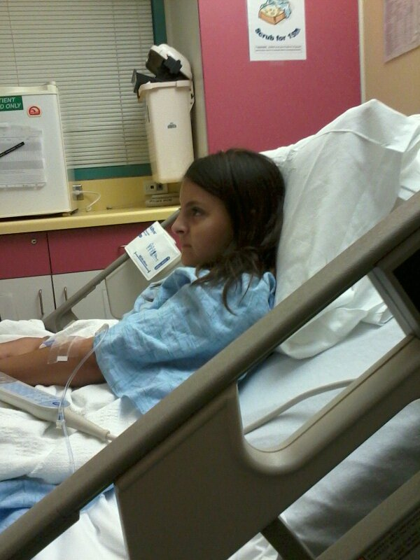 My Daughters Box Room Right Side: Emergency Room Visit And Over Night Hospital Stay