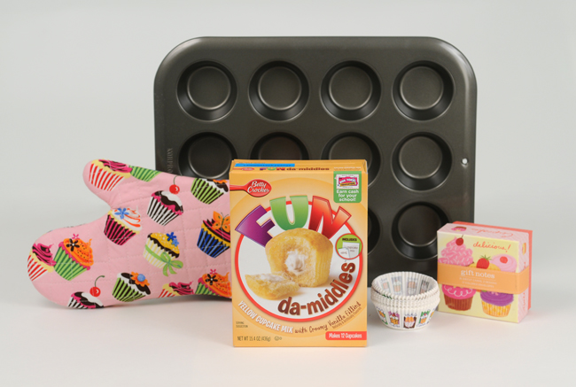 Betty Crocker FUN da-middles prize pack