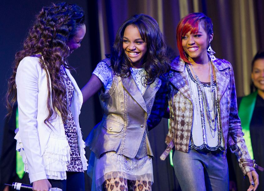 Interview With The Mcclain Sisters About Their Song Rise From Disneynature Chimpanzee The Night Owl Mama
