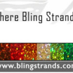 Add Color To Your Hair with Bling Strands Review