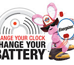 Energizer Change Your Clock Change Your Battery + Smoke Alarm Giveaway