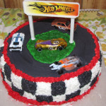 Wordless Wednesday: Hot Wheels Beat that! Look at this CAKE!!