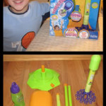 Gazillion Bubbles Rocket, Flyer, and Bubble Machine Review/Giveaway