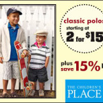 Childrens Place 15% off Coupon for Spring Shopping exp. 2/18