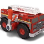 Tonka Strong Arm Fire Engine Review + Giveaway