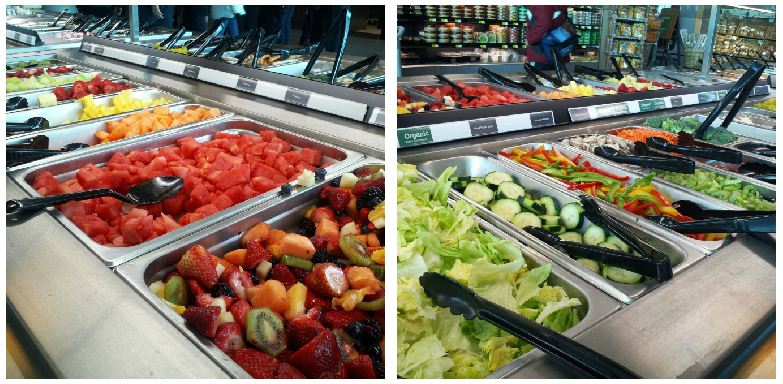 Mariano 39 s fresh market provides a whole new shopping for Food bar experience