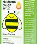 All Natural Cough Syrup Zarbee's Soothes a Sore Throat for Children 12 months and Up