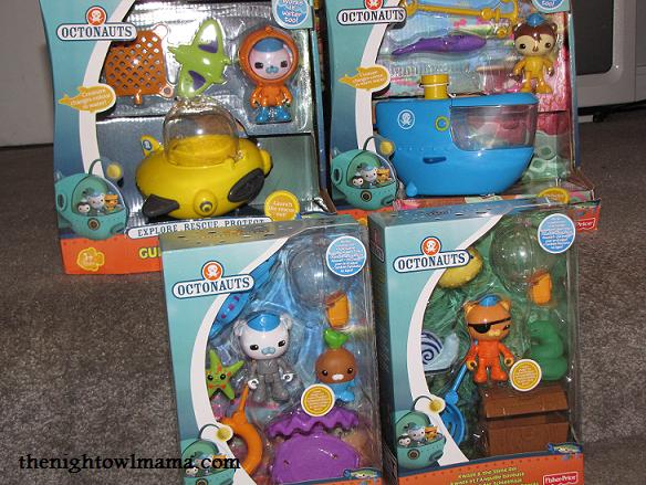 Octonauts-toys