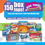 $25 Sams Club Gift Card Giveaway For Back To School Box Tops for Education Event