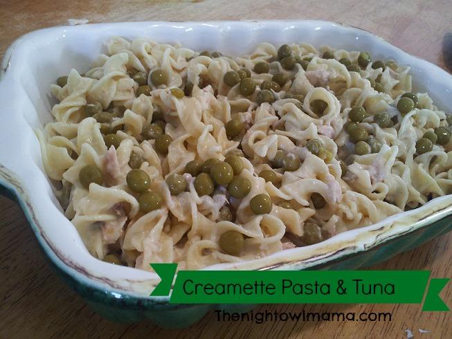 tuna-creamette-pasta-dish
