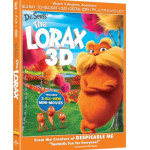 DR. SEUSS' THE LORAX on 3D Blu-ray and DVD on 8/7/12 (Review)