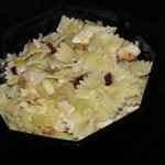 Cranberry, Pineapple, Almond, & Chicken with Bow Tie Pasta Salad with Fisher Nuts Prize Pack #Giveaway