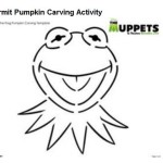 Craft: Kermit the Frog Pumpkin Carving Activity and Fozzie Bear Halloween Jokes