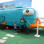 Phineas and Ferb's Perry the Platypus Bus Tour in Chicago at NAVY PIER