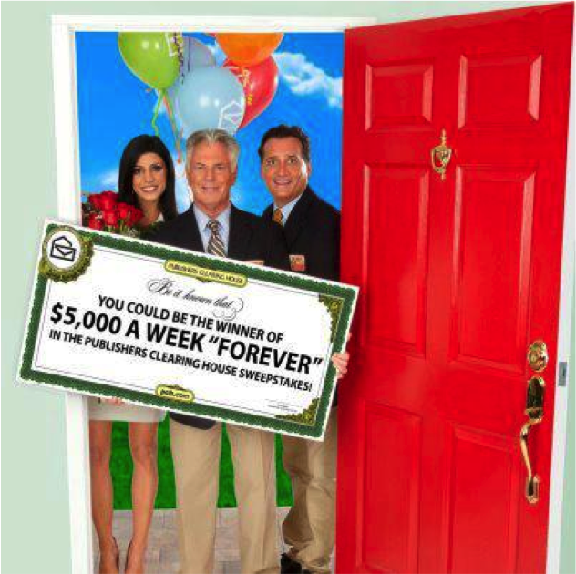 of Publishers Clearing House. The opinions and text are all mine