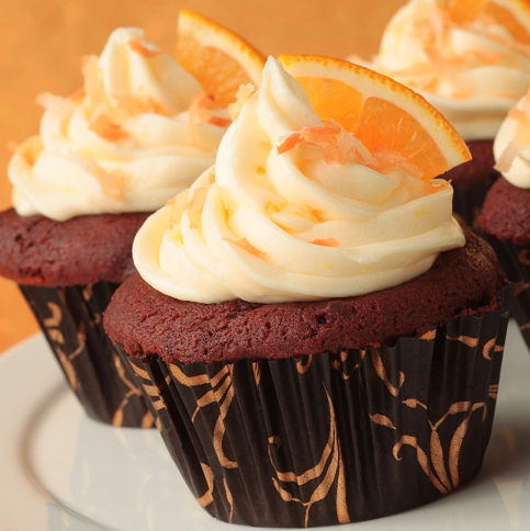 Chocolate-Coconut-Cupcakes-with-Orange-Butter-Cream-Frosting