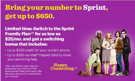 framily-service-sprint-ad