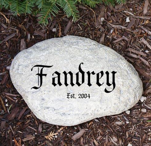 personalized-garden-stone
