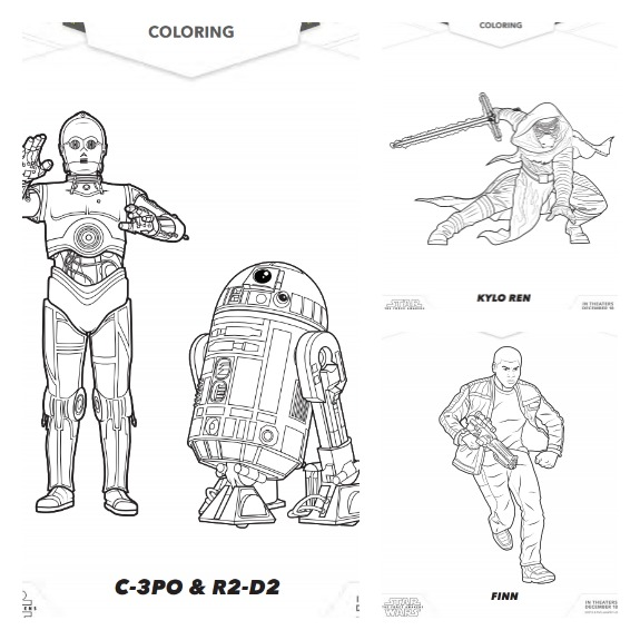 Coloring Pages  Star Wars The Force Awakens Trailer  The