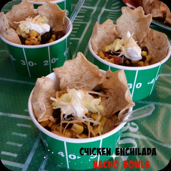 Chicken-enchilada-nacho-bowls