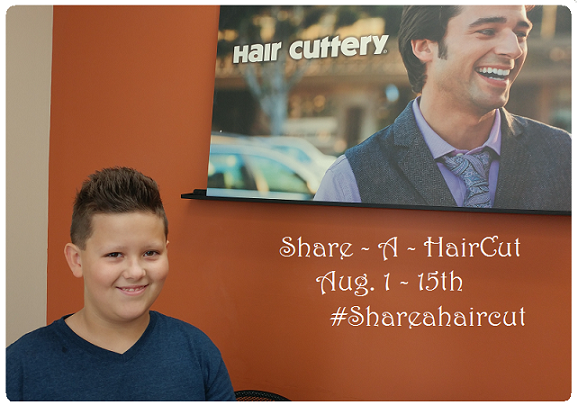 Hair Cuttery Styles: Hair Cuttery's Back To School Share-a-Haircut Program Is
