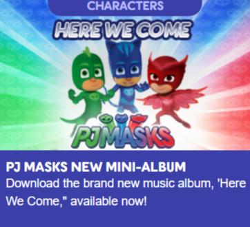 pjmasks-mini-album-music