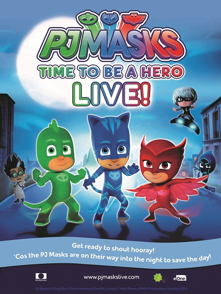 Im a PJMaks Ambassador. Spreading the word about PJMASKS. I'll receive tkts to attend and review this show for my readers