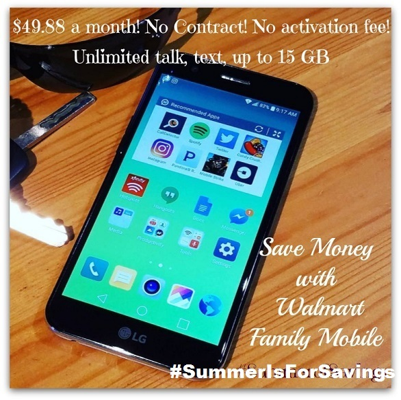 Switch to Walmart Family Mobile and Save- no contract, no