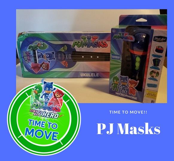 PJ Masks-timetomove