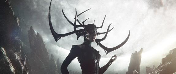 Marvel Studios' THOR: RAGNAROK..Hela (Cate Blanchett) .