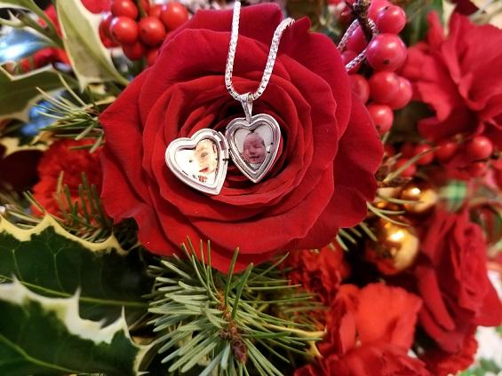 two photo heart locket