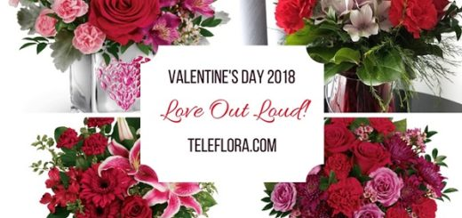 This is a sponsored post on behalf of Teleflora.com. I received a bouquet of flowers for my promotional post and sharing my honest opinion.